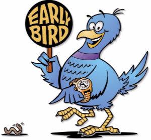 Register for Early Bird