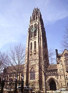 Yale University in New Haven
