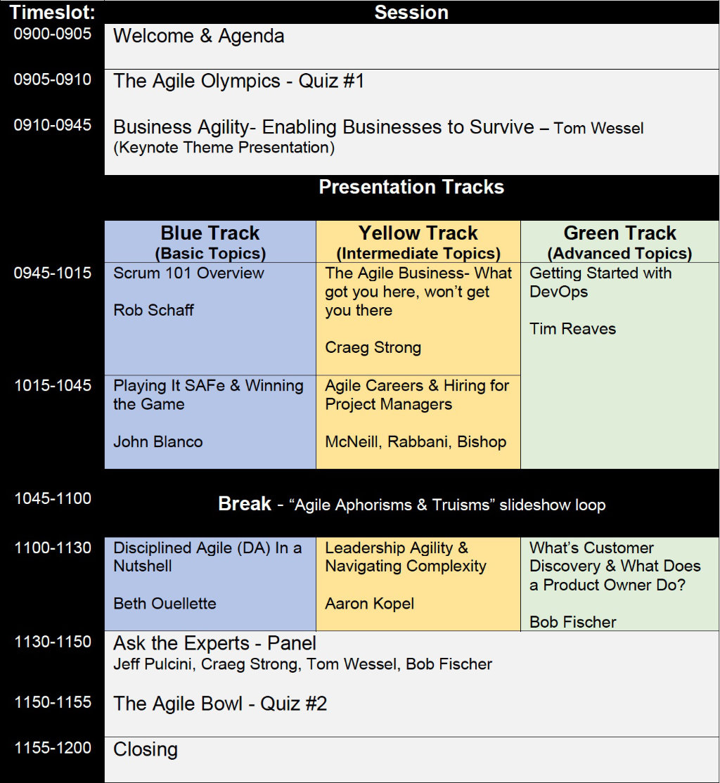 XC21 schedule